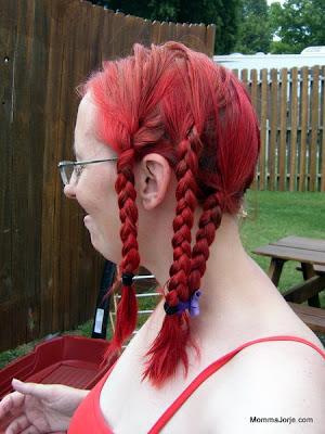 Pre-dreadlock braids