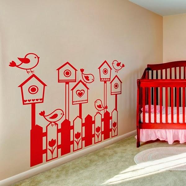 Papel pintado vinilos infantiles para paredes - Decoracion infantil paredes ...