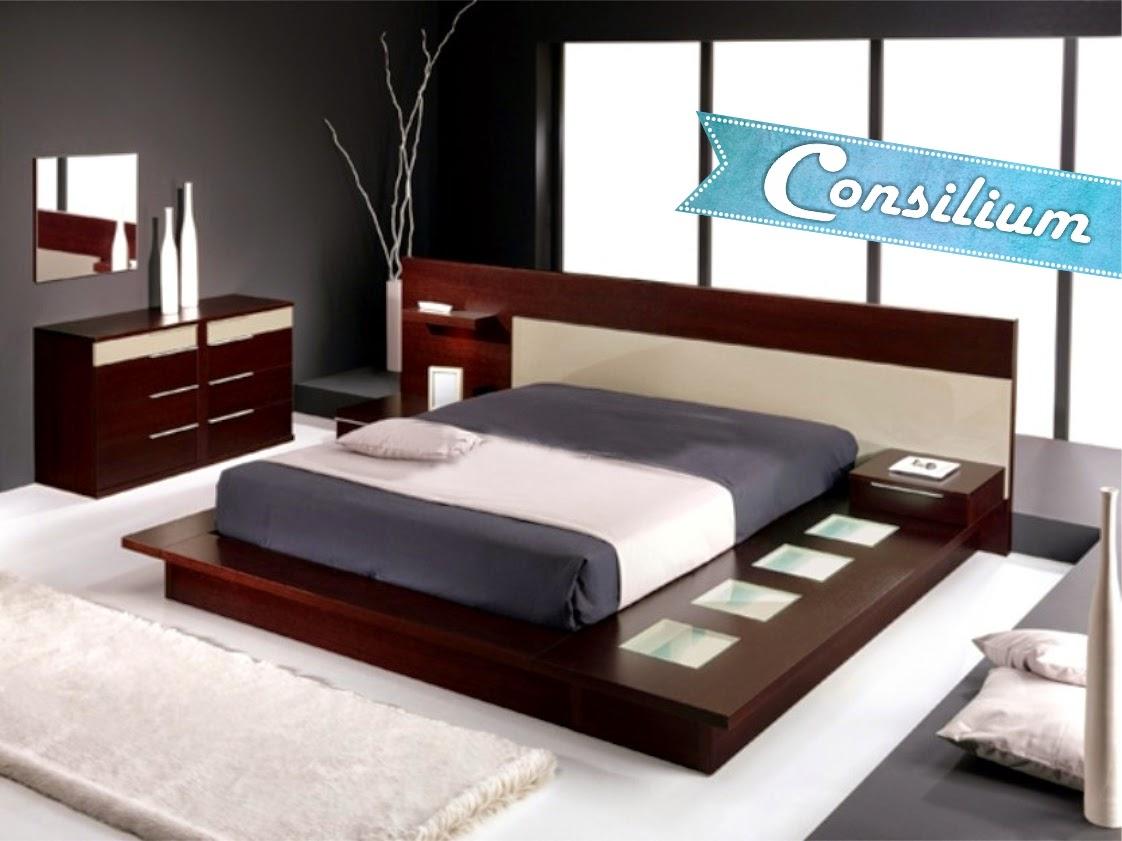 Consilium muebles modernos dormitorio sommiers for Dormitorios 2 camas muebles