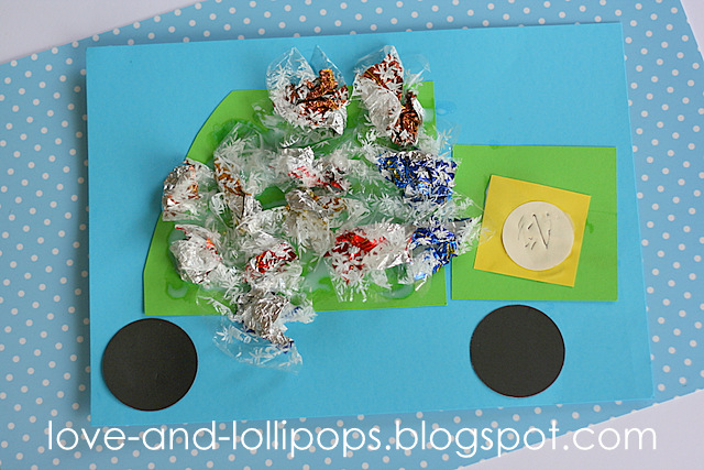 Garbage Truck Crafts For Toddlers