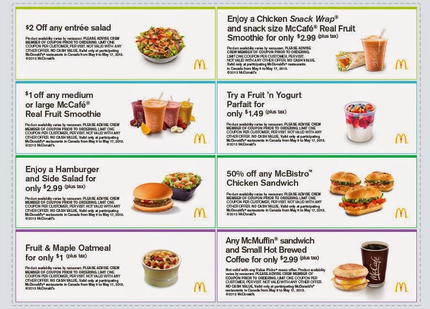 Print mcdonalds coupons