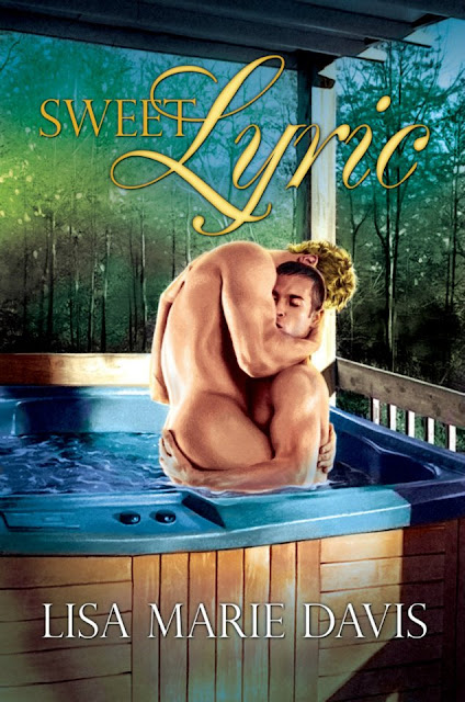 Sweet Lyric, gay romance novel with cover illustration by Paul Richmond
