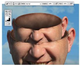 manipulasi tumpukan kepala dengan photoshop