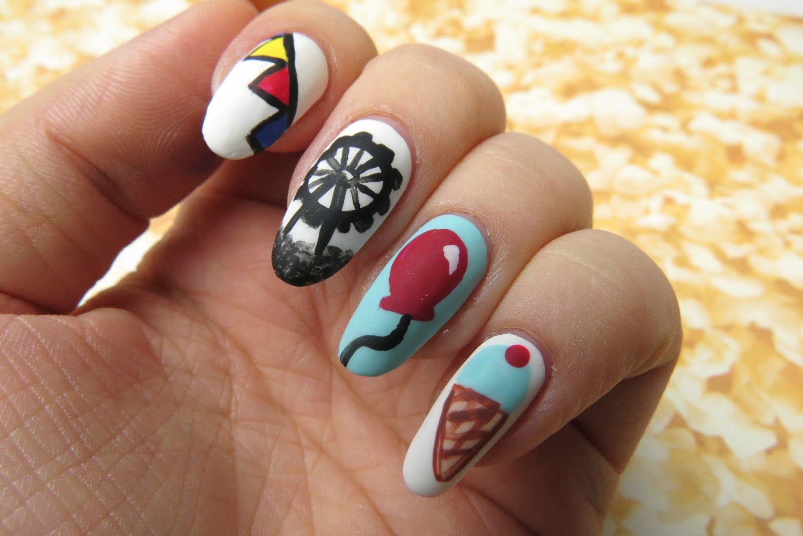 Mani Monday: Let\'s Go to the Ex!   Kaitlyn Elisabeth Beauty