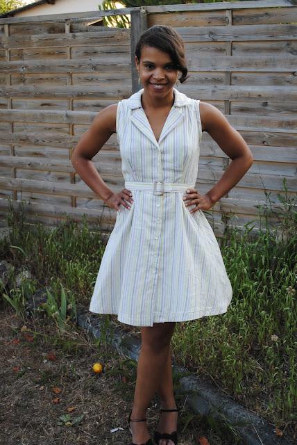 Sew over it vintage shirt dress