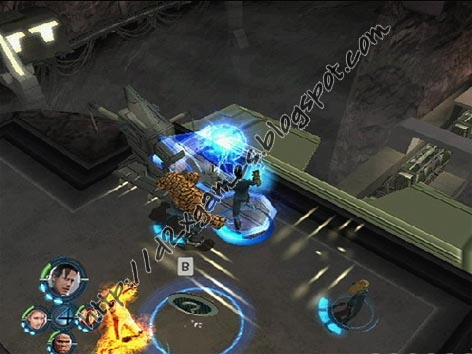 Free Download Games - Fantastic 4