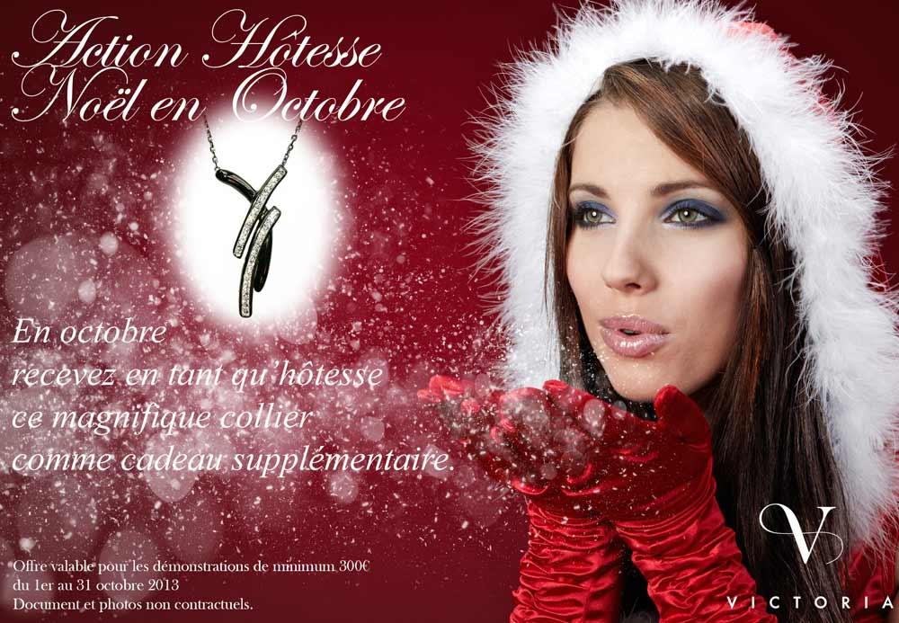 Non,non vous ne rêvez pas, chez VICTORIA, Noël est en octobre!!!!!  N\u0027attendez pas le rush des magasins, Victoria vous offre encore plus de  cadeaux au mois