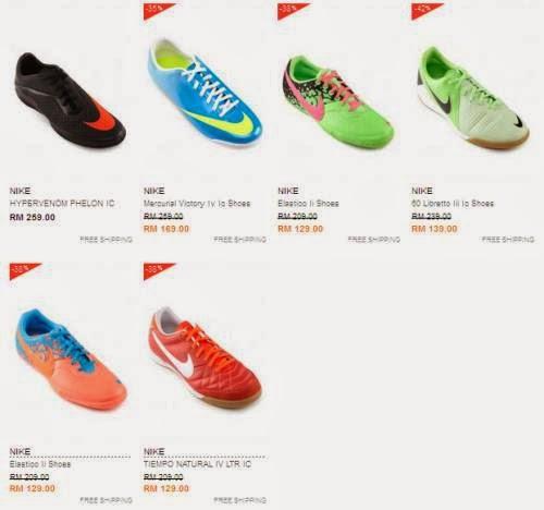 Jual Kasut Bola Nike Original
