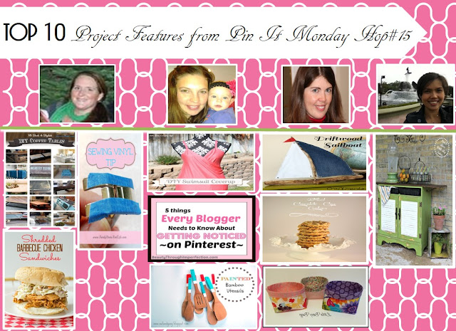 Top 10 Project Features from Pin It Monday Hop#15