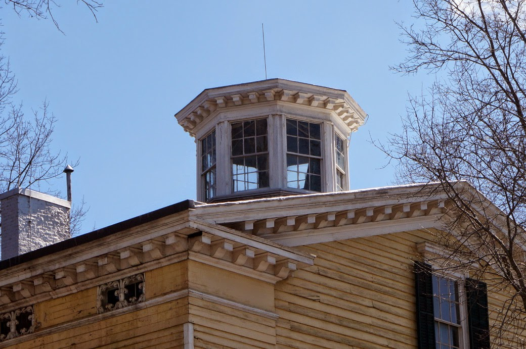 Cupola on Joseph Steele House
