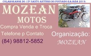 PUBLICIDADE: MOZEAN MOTOS POVOADO RAJADA C. dos DANTAS
