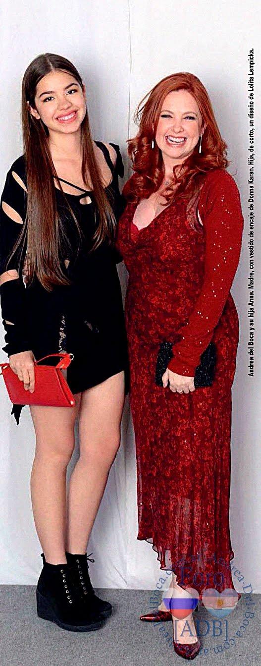 Andrea y Anna, gala de Gente(2015)