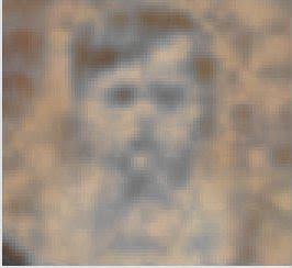 Ghost photo or spirit of a child