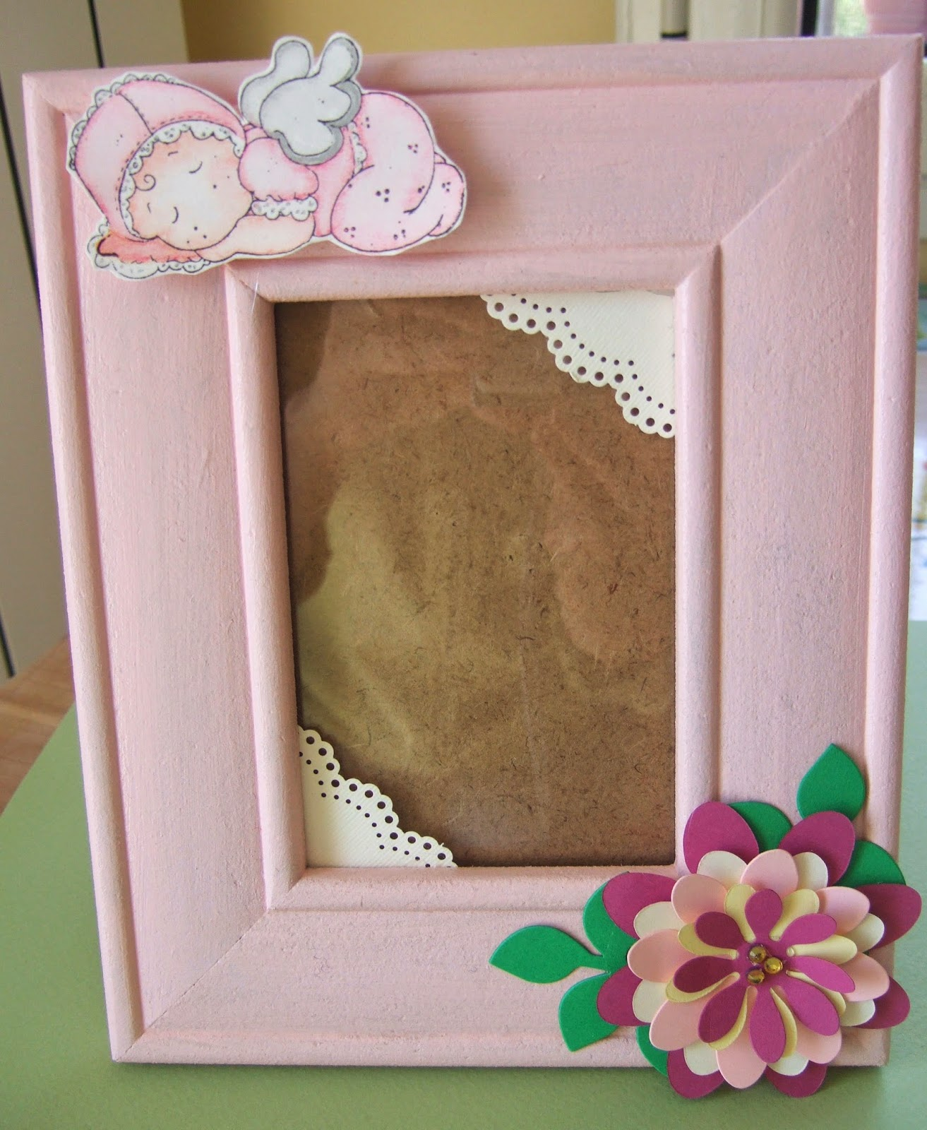 Un giardino di fantasia cornice portafoto per bambine for Un costo di cornice