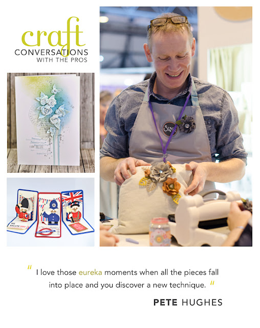 Craft Conversations with the Pros Pete Hughes by Paula Pascual