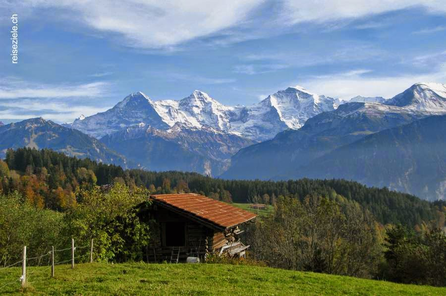 Casa de Heidi en Maienfeld Suiza