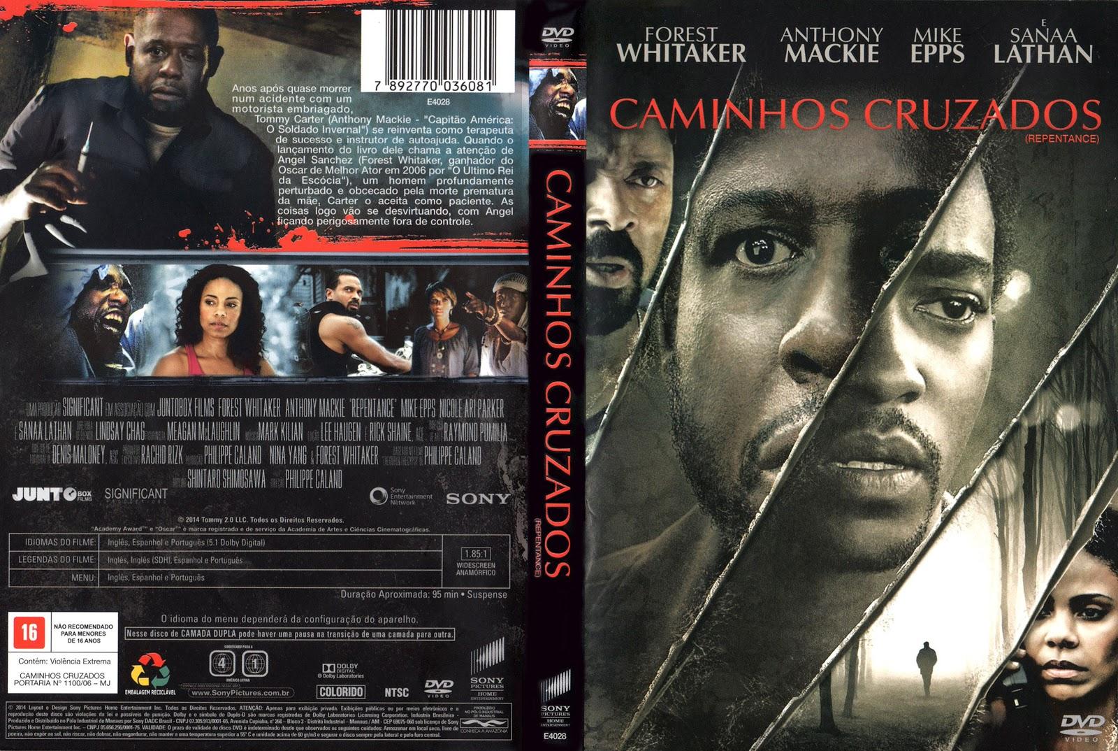 Capa DVD Caminhos Cruzados