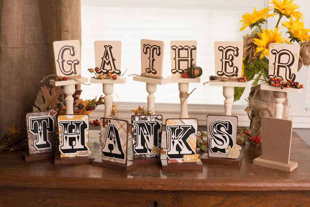 Fall Holiday Signs @craftsavvy @sarahowens #craftwarehouse #halloween #signs #decoration #diy #party