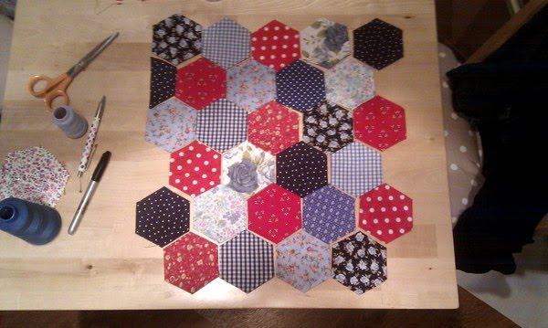 Leanne Laura: Floral Patchwork Knitting Bag ♥