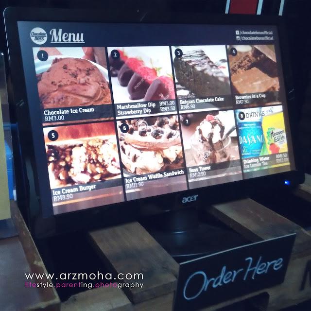 menu di chocolate boss, menu sedap di chocolate boss, tempat makan menarik, cafe menarik dan sedap penang, tempat bes lepak penang,