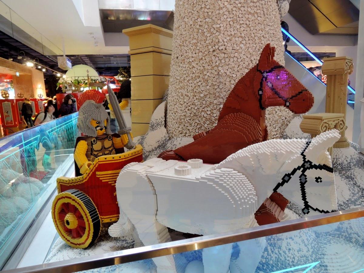 колесница из лего