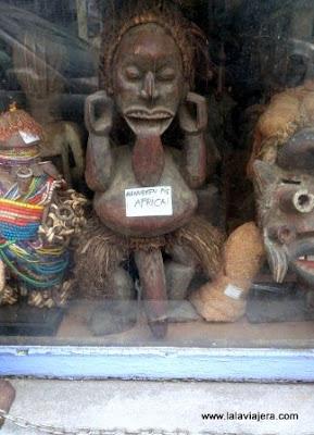 Manneken Pis Africano, Bruselas