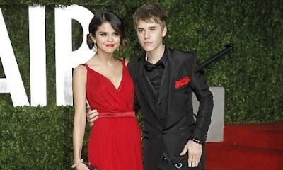 justin bieber selena gomez red carpet