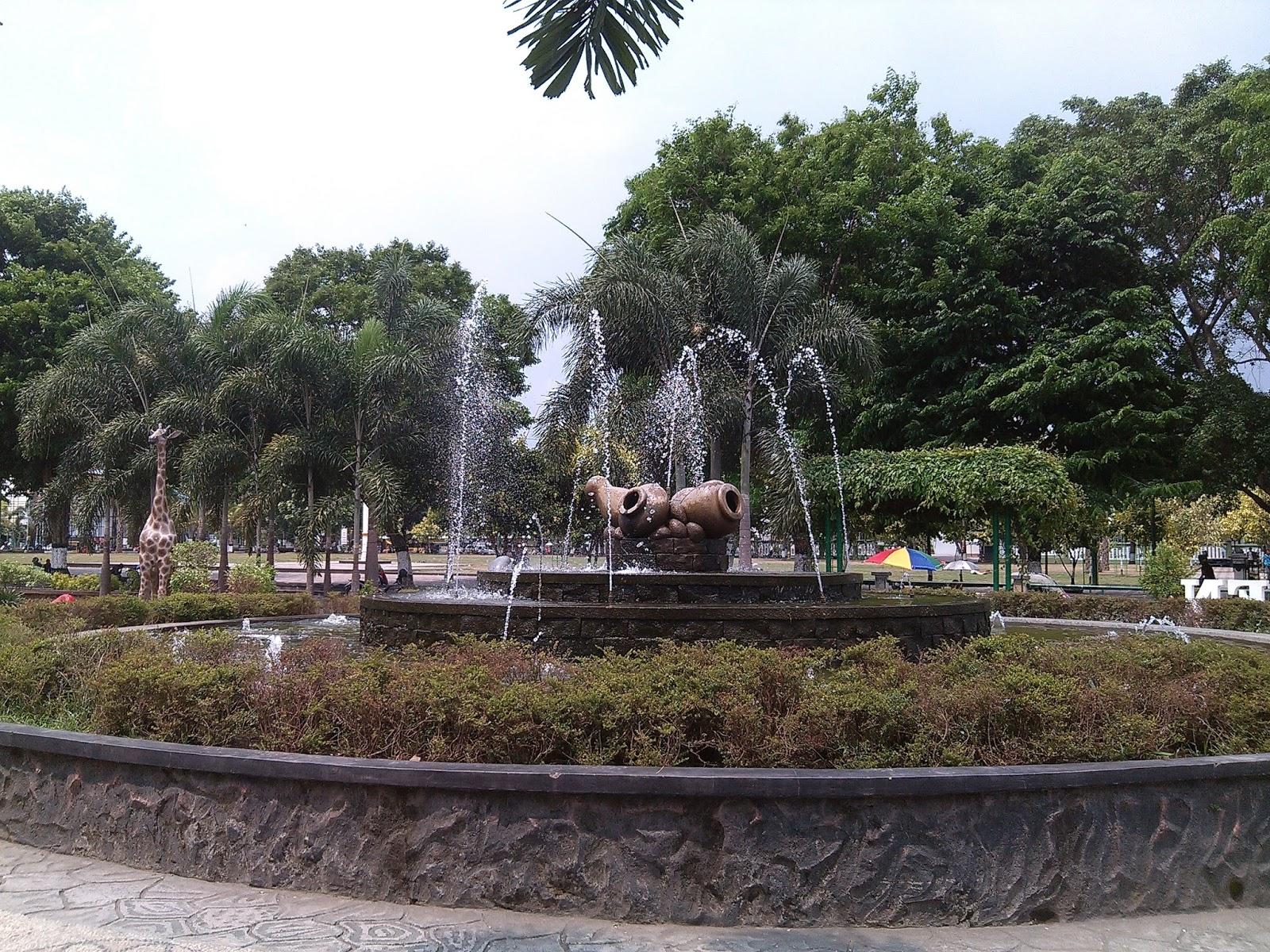 Taman Kota Klaten Jawa Tengah - Djangkaru Bumi