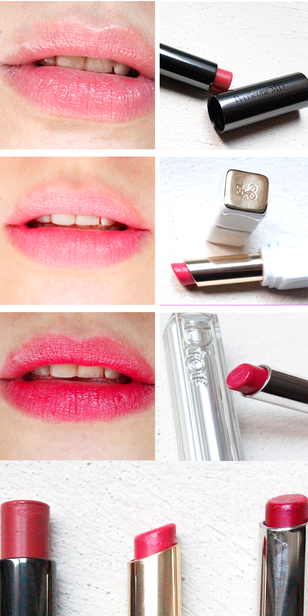3 lipsticks favoritos