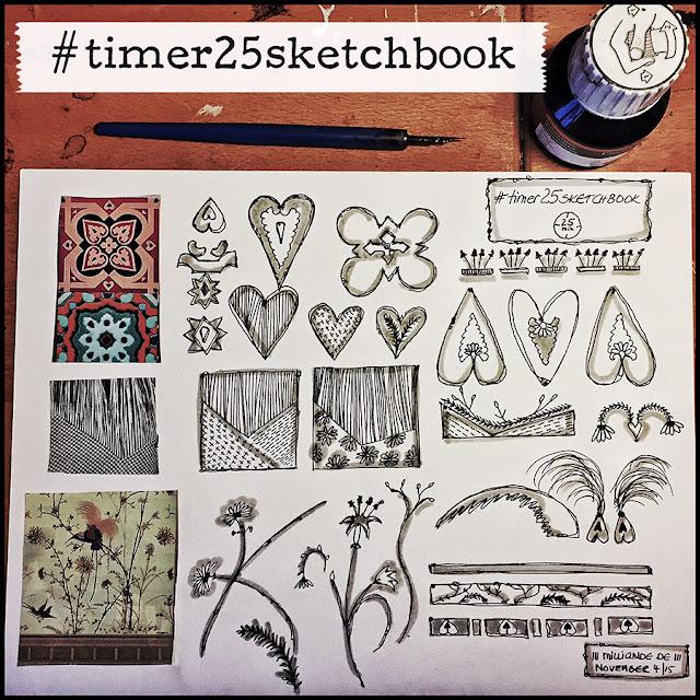 Milliande  Timer 25 Sketchbook Studies - Day 5