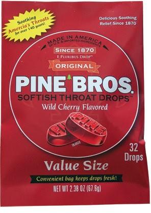 Pine Bros Softish Throat Drops Review