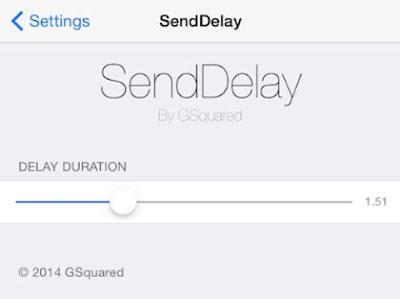 Send Delay App