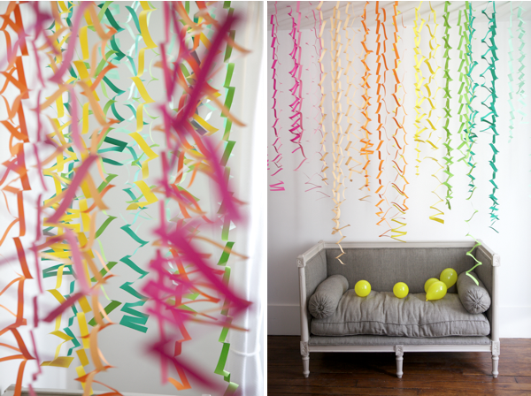 ... design everyday: Graduation Party Plan: tissue paper decorations