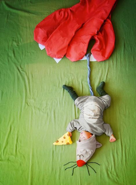 Vintage-Kids: Tolle Bilder von schlafendem Sohn