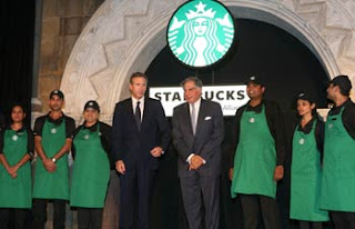 starbucks , tata global beverages , starbucks in India