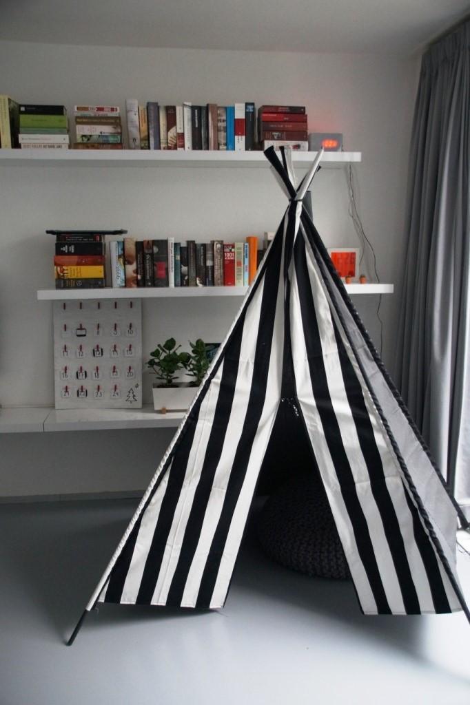 DIY tipi - huisje boompje boefjes