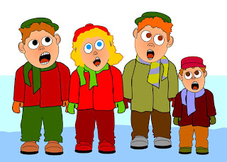 Children Caroling