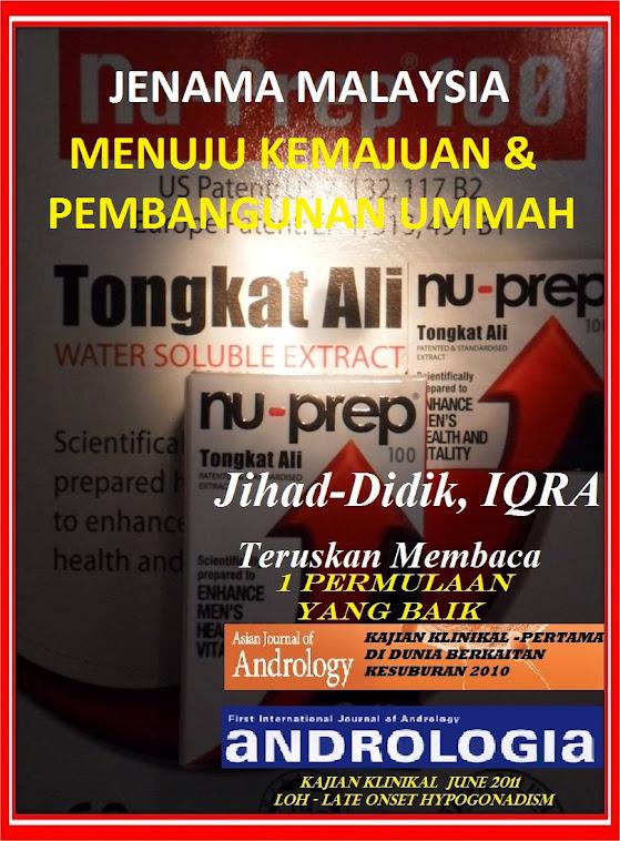 Moyang Terdahulu Setanding PAKAR PERUBATAN DUNIA MODEN, Jenama Malaysia Nu-Prep 100 krieteria WHO