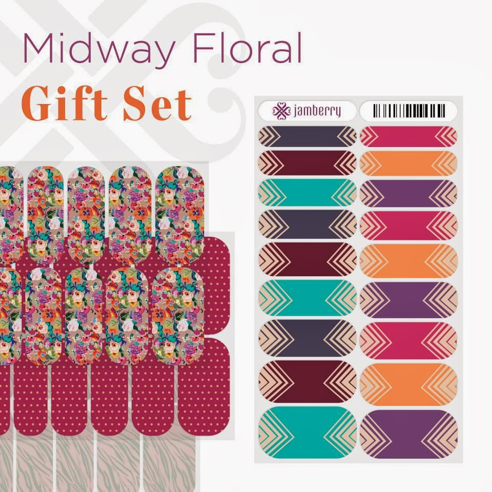 [RePLAY] Holiday #NailArt Gift Sets From #JamberryNails
