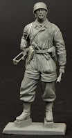 Fortes Miniatures early war Fallschirmjäger in 1/24th scale