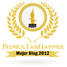 Premio Fanhammer al mejor blog 2012!