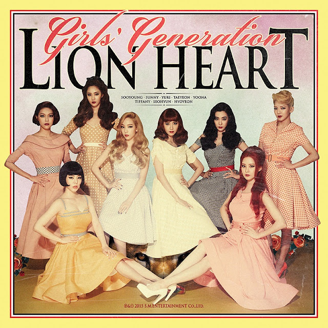 SNSD Girls Generation Lion Heart Cover