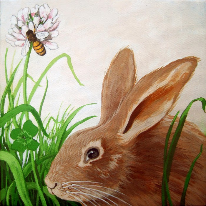 http://www.applearts.com/content/rabbit-clover-and-bumblebee-animal-portrait