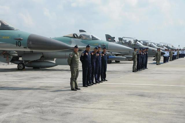 "TNI AU Gelar Latihan ""Angkasa Yudha 2013"" di Natuna"
