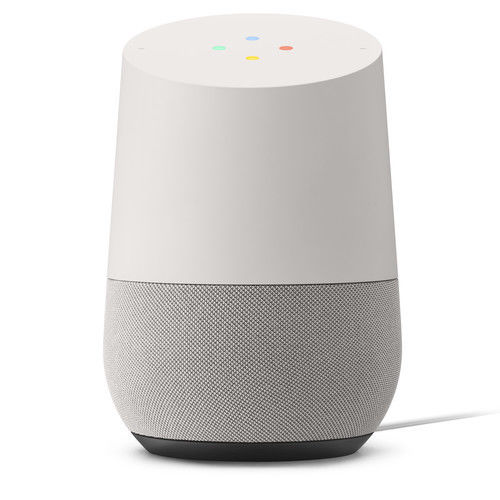 New Google Home Personal Assistant (White Slate)