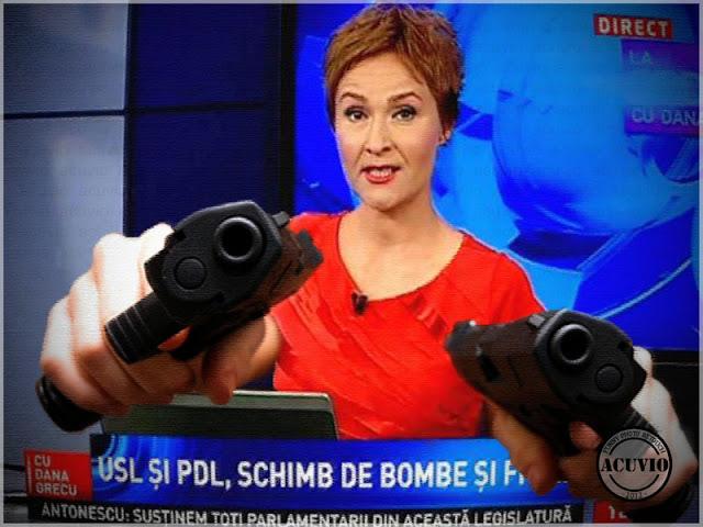 Dana Grecu funny photo Ordinea zilei