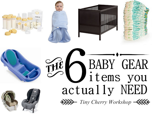 Tiny Cherry: The 6 Baby Gear Items You Actually NEED