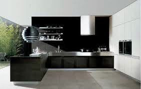 ultra modern grafibe kitchen for apartments