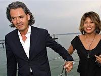 la boda de la cantante Tina Turner con su pareja Erwin Bach en Switzerland