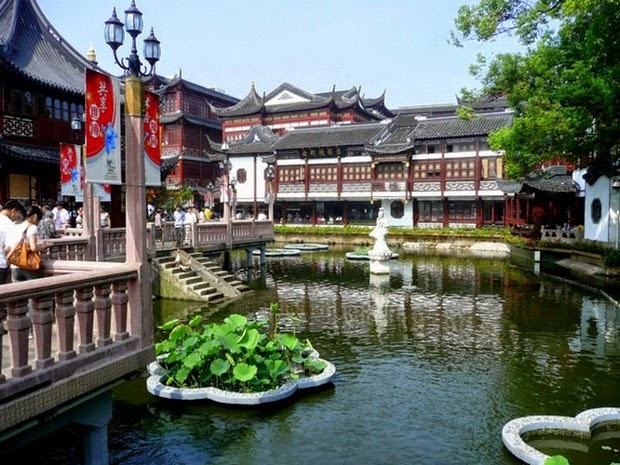 World's most beautiful gardens - Yu Yuan Garden, China